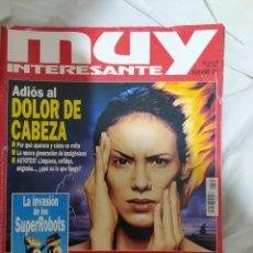 Coleccionismo de Revista Muy Interesante: MUY INTERESANTE- REVISTA N°198-- NOVIEMBRE DE 1997-- EN EXCELENTE ESTADO DE CONSERVACIÓN--. Lote 269655388