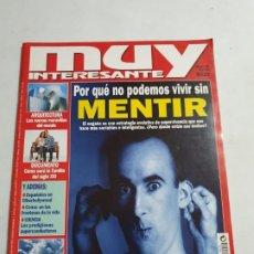Coleccionismo de Revista Muy Interesante: MUY INTERESANTE Nº 206 ESTADO BUENO MAS ARTICULOS. Lote 276216148