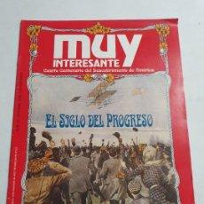 Coleccionismo de Revista Muy Interesante: MUY INTERESANTE ESPECIAL EL SIGLO DEL PROGRESO ESTADO BUENO MAS ARTICULOS. Lote 276216413