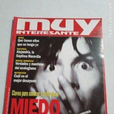 Coleccionismo de Revista Muy Interesante: MUY INTERESANTE Nº 185 ESTADO BUENO MAS ARTICULOS. Lote 276217063