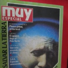 Coleccionismo de Revista Muy Interesante: MUY ESPECIAL SALVAR LA TIERRA. Lote 276995163