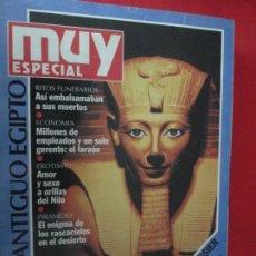Coleccionismo de Revista Muy Interesante: MUY ESPECIAL Nº 9 QNTIGUO EGIPTO. Lote 276995818