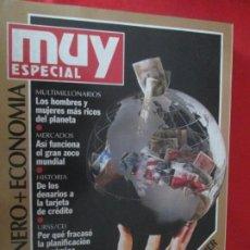 Coleccionismo de Revista Muy Interesante: MUY ESPECIAL Nº 10 DINERO + ECONOMIA. Lote 276995913