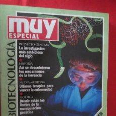 Coleccionismo de Revista Muy Interesante: MUY ESPECIAL Nº 12 BIOTECNOLOGIA. Lote 276996048