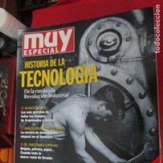 Coleccionismo de Revista Muy Interesante: MUY ESPECIAL Nº 23 HISTORIA DE LA TECNOLOGIA. Lote 276997213