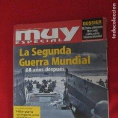 Coleccionismo de Revista Muy Interesante: MUY ESPECIAL Nº 68 LA SEGUNDA GUERRA MUNDIAL. Lote 277035458