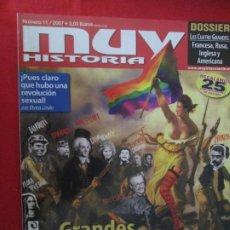 Coleccionismo de Revista Muy Interesante: MUY HISTORIA GRANDES REVOLUCIONES. Lote 277036473