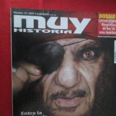 Coleccionismo de Revista Muy Interesante: MUY HISTORIA PIRATAS. Lote 277036653
