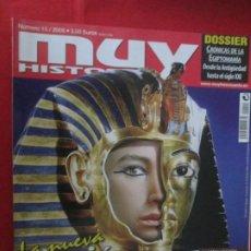 Coleccionismo de Revista Muy Interesante: MUY HISTORIA PASION POR EGIPTO. Lote 277036718