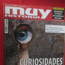 Colecionismo da Revista Muy Interesante: MUY HISTORIA CURIOSIDADS DE LA HISTORIA. Lote 277036768