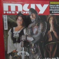 Coleccionismo de Revista Muy Interesante: MUY HISTORIA ASI ERA LA VIDA EN LA EDAD MEDIA. Lote 277036998