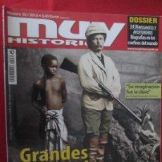 Coleccionismo de Revista Muy Interesante: MUY HISTORIA GRANDES EXPLORADORES DE LA HISTORIA. Lote 277037118