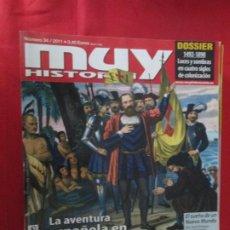 Coleccionismo de Revista Muy Interesante: MUY HISTORIA LA AVENTURA ESPAÑOLA EN AMERICA. Lote 277037233