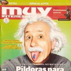 Coleccionismo de Revista Muy Interesante: REVISTA MUY INTERESANTE - Nº 359 - ABRIL 2011 - NEUROCIENCIA - HEROINAS DE LOS SIMIOS. Lote 280109188