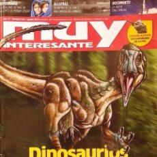 Coleccionismo de Revista Muy Interesante: REVISTA MUY INTERESANTE - Nº 322 - AGOSTO 2012 - NEUROCIENCIA - DINOSAURIOS EMPLUMADOS - ALCATRAZ. Lote 280109493