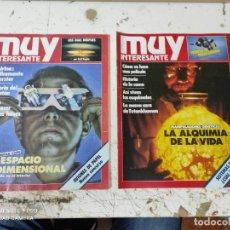 Coleccionismo de Revista Muy Interesante: LOTE DE REVISTAS MUY INTERESANTE AÑOS 1984 PRIMEROS NUMEROS. Lote 287744168