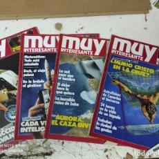 Coleccionismo de Revista Muy Interesante: LOTE DE REVISTAS MUY INTERESANTE AÑOS 1985 PRIMEROS NUMEROS. Lote 287744938