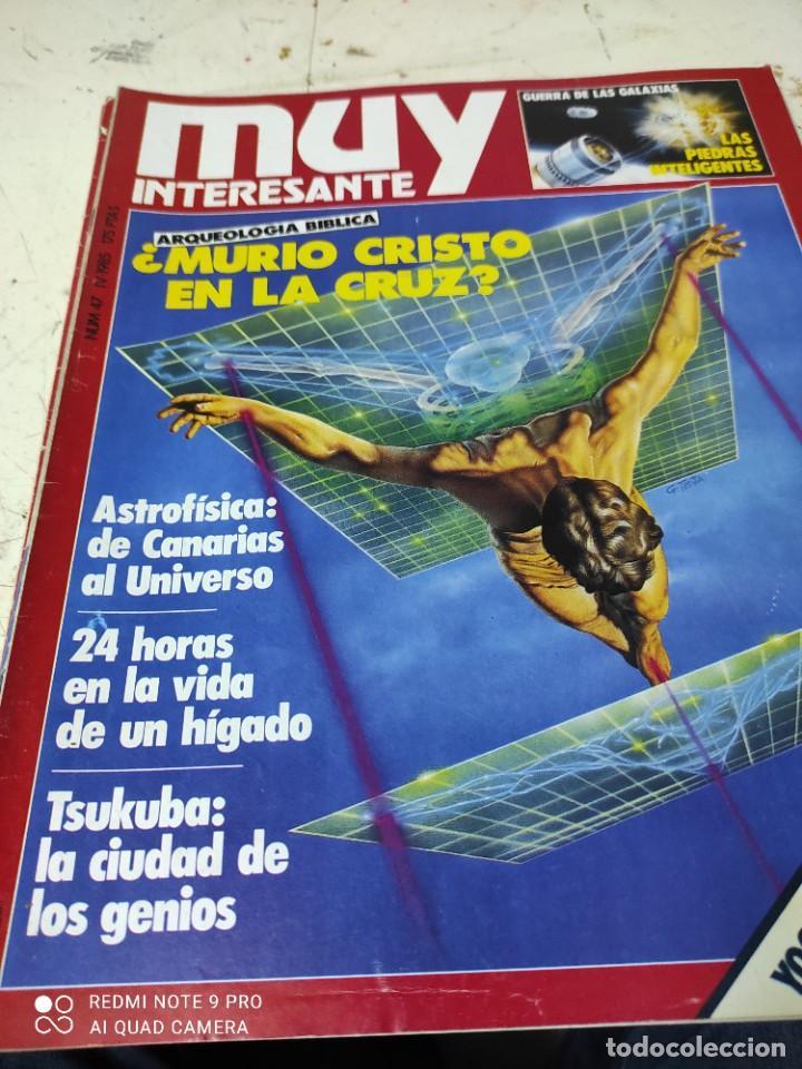 Coleccionismo de Revista Muy Interesante: lote de revistas muy interesante años 1985 primeros numeros - Foto 2 - 287744938
