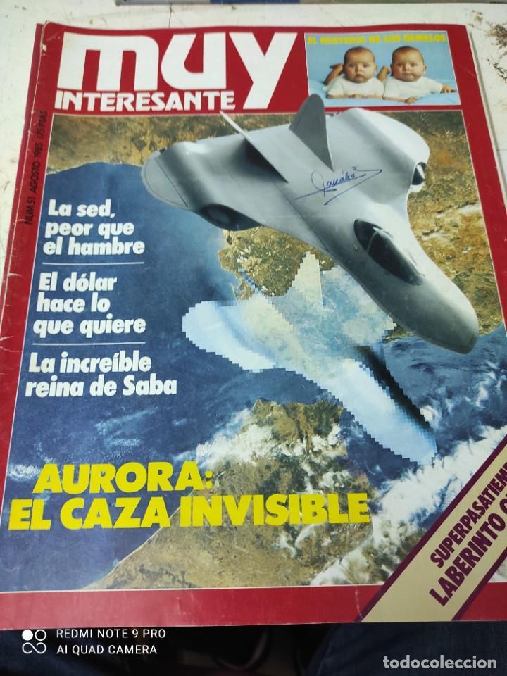 Coleccionismo de Revista Muy Interesante: lote de revistas muy interesante años 1985 primeros numeros - Foto 3 - 287744938
