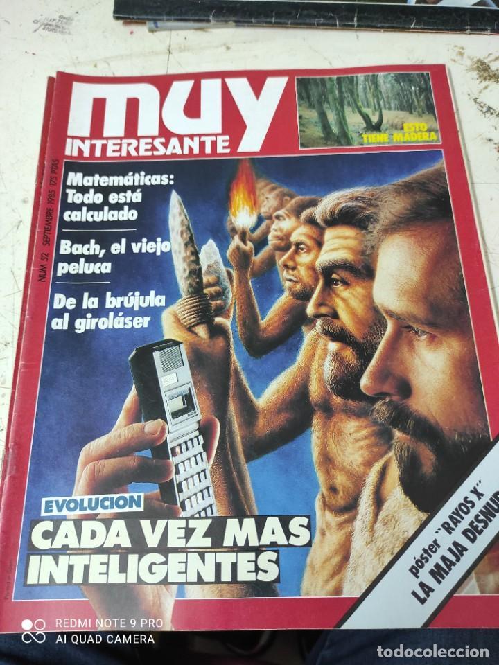 Coleccionismo de Revista Muy Interesante: lote de revistas muy interesante años 1985 primeros numeros - Foto 4 - 287744938