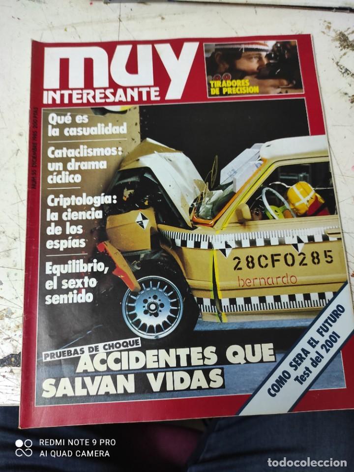Coleccionismo de Revista Muy Interesante: lote de revistas muy interesante años 1985 primeros numeros - Foto 5 - 287744938