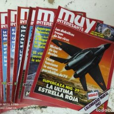 Coleccionismo de Revista Muy Interesante: LOTE DE 8 REVISTAS MUY INTERESANTE AÑOS 1987 PRIMEROS NUMEROS. Lote 287747403