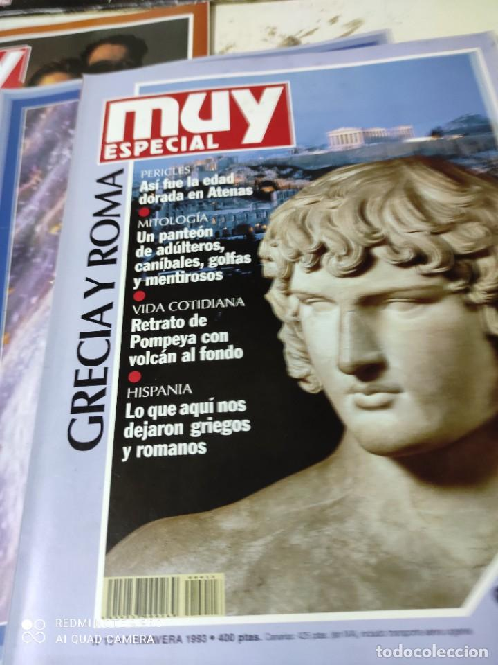 Coleccionismo de Revista Muy Interesante: lote de revistas muy especial de muy interesante primeros numeros - Foto 4 - 287748608