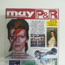 Coleccionismo de Revista Muy Interesante: MUY INTERESANTE PREGUNTAS Y RESPUESTAS #36. Lote 288009383