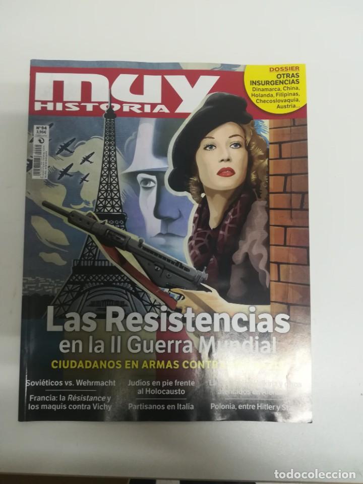 MUY HISTORIA #94 (Coleccionismo - Revistas y Periódicos Modernos (a partir de 1.940) - Revista Muy Interesante)