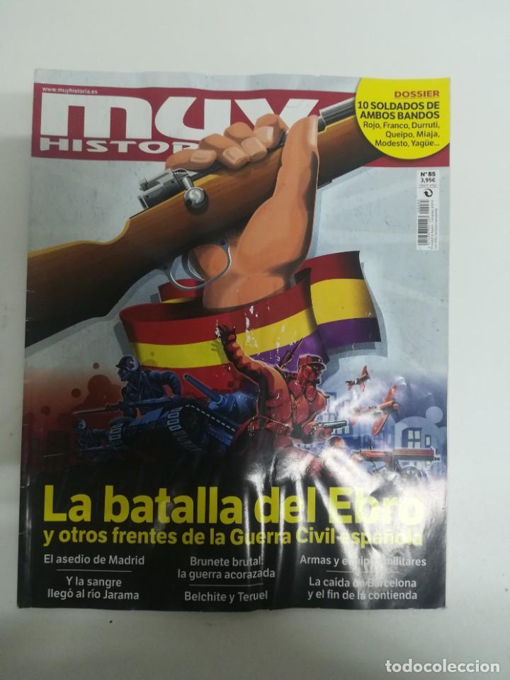 MUY HISTORIA #85 (Coleccionismo - Revistas y Periódicos Modernos (a partir de 1.940) - Revista Muy Interesante)