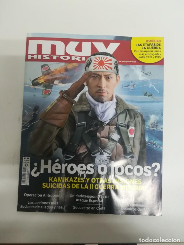 MUY HISTORIA #91 (Coleccionismo - Revistas y Periódicos Modernos (a partir de 1.940) - Revista Muy Interesante)