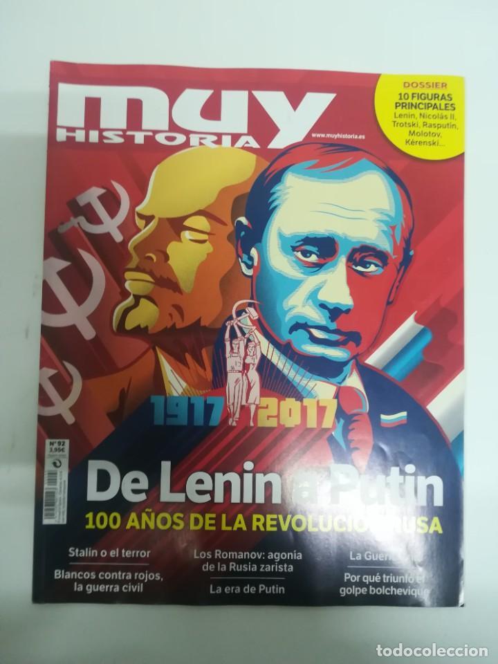 MUY HISTORIA #92 (Coleccionismo - Revistas y Periódicos Modernos (a partir de 1.940) - Revista Muy Interesante)