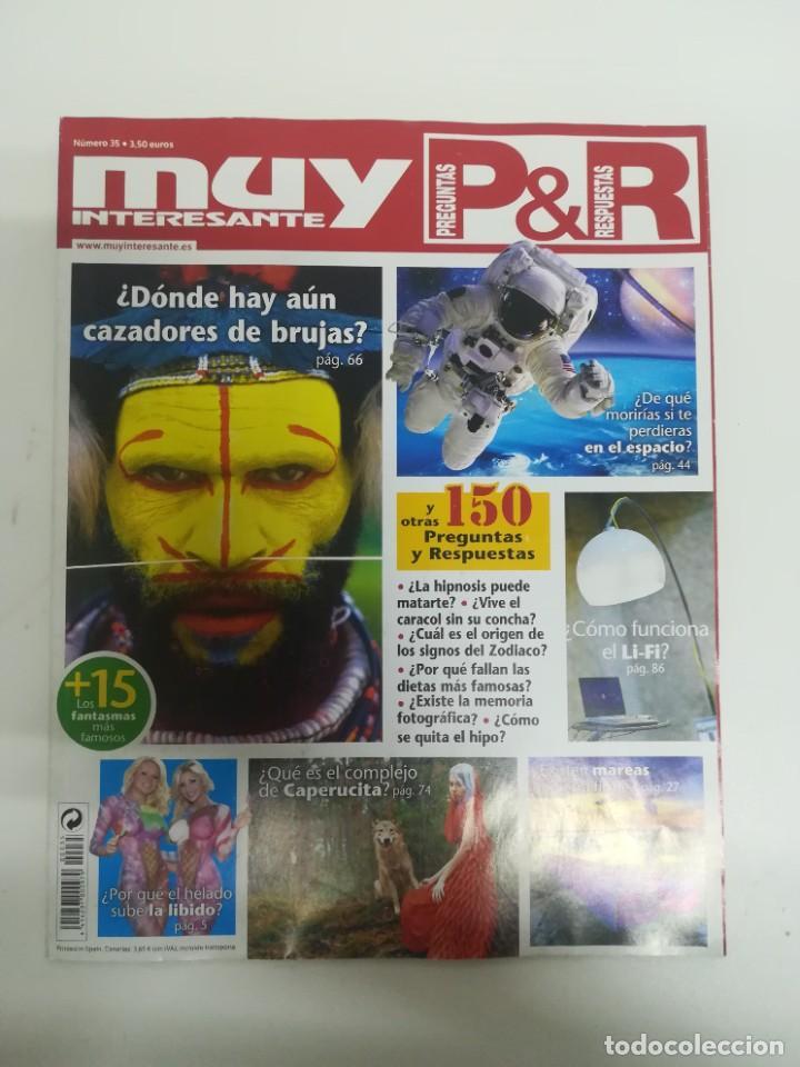 MUY INTERESANTE PREGUNTAS Y RESPUESTAS #35 (Coleccionismo - Revistas y Periódicos Modernos (a partir de 1.940) - Revista Muy Interesante)
