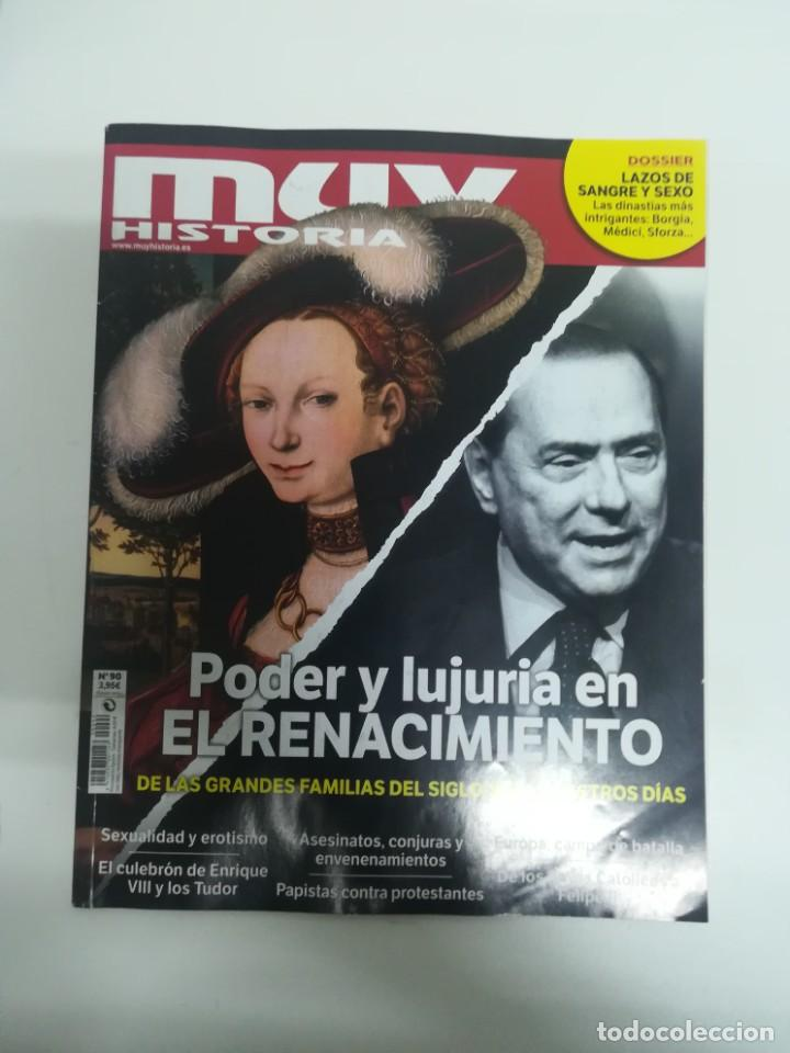 MUY HISTORIA #90 (Coleccionismo - Revistas y Periódicos Modernos (a partir de 1.940) - Revista Muy Interesante)