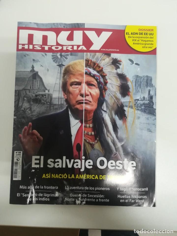 MUY HISTORIA #89 (Coleccionismo - Revistas y Periódicos Modernos (a partir de 1.940) - Revista Muy Interesante)
