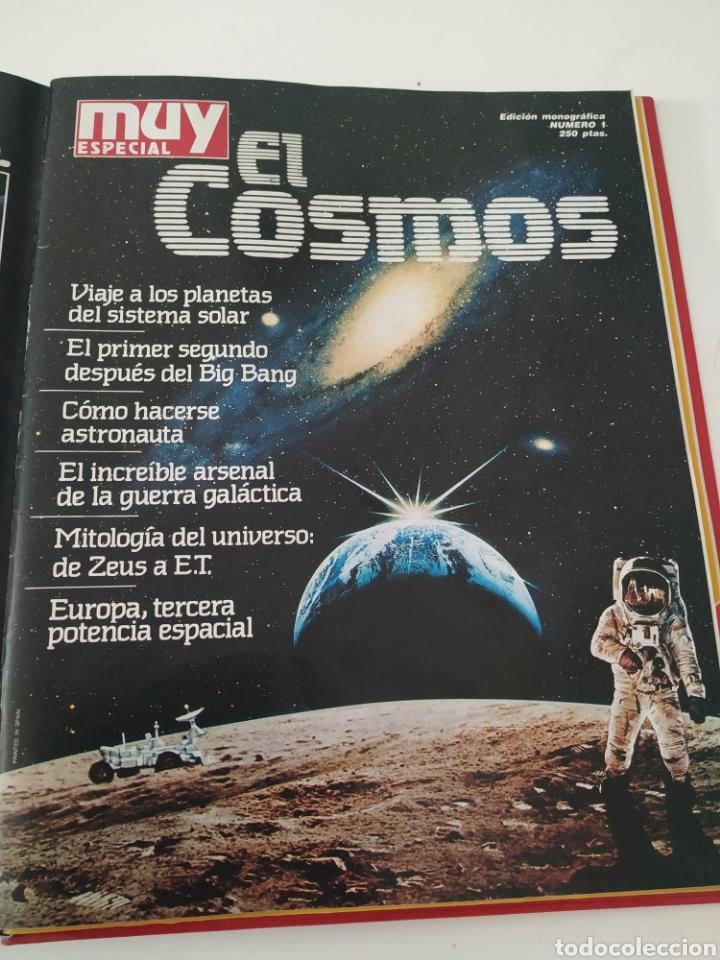 Coleccionismo de Revista Muy Interesante: Revistas Muy interesante 54-74 + Monográfico EL COSMOS + monográfico Ordenadores - Foto 2 - 288043753