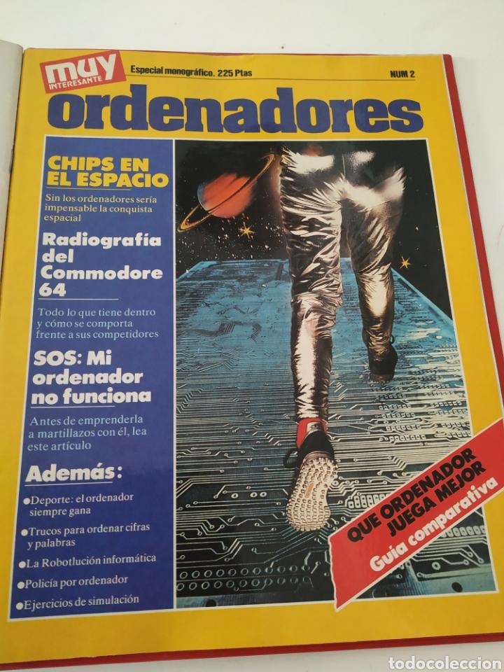 Coleccionismo de Revista Muy Interesante: Revistas Muy interesante 54-74 + Monográfico EL COSMOS + monográfico Ordenadores - Foto 3 - 288043753