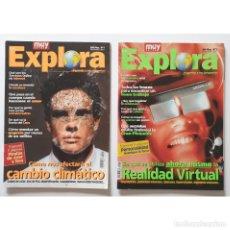 Coleccionismo de Revista Muy Interesante: MUY EXTRA EXPLORA Nº 1 Y 2 (1997) REVISTA MUY INTERESANTE. Lote 288391348