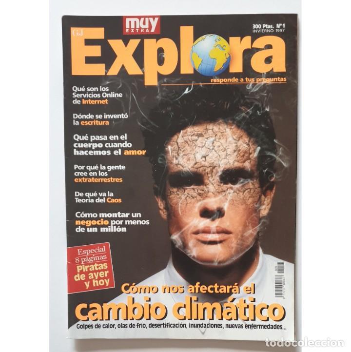 Coleccionismo de Revista Muy Interesante: MUY EXTRA EXPLORA nº 1 y 2 (1997) REVISTA MUY INTERESANTE - Foto 2 - 288391348