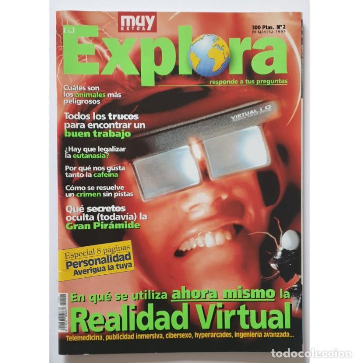 Coleccionismo de Revista Muy Interesante: MUY EXTRA EXPLORA nº 1 y 2 (1997) REVISTA MUY INTERESANTE - Foto 3 - 288391348