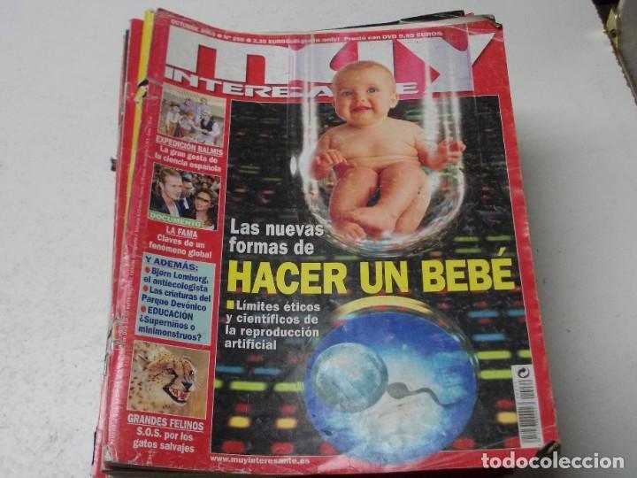 Coleccionismo de Revista Muy Interesante: Lote 20 revistas Muy Interesante, ver fotos portadas y leer números - Foto 2 - 288475248