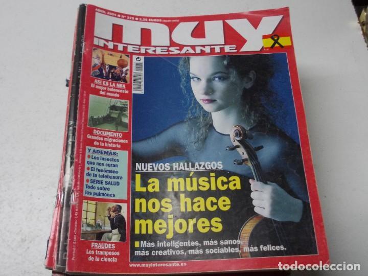Coleccionismo de Revista Muy Interesante: Lote 20 revistas Muy Interesante, ver fotos portadas y leer números - Foto 3 - 288475248