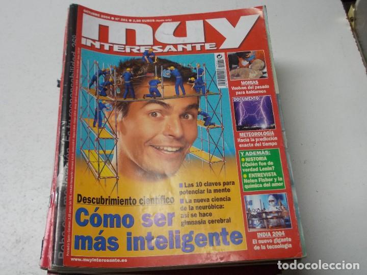 Coleccionismo de Revista Muy Interesante: Lote 20 revistas Muy Interesante, ver fotos portadas y leer números - Foto 4 - 288475248