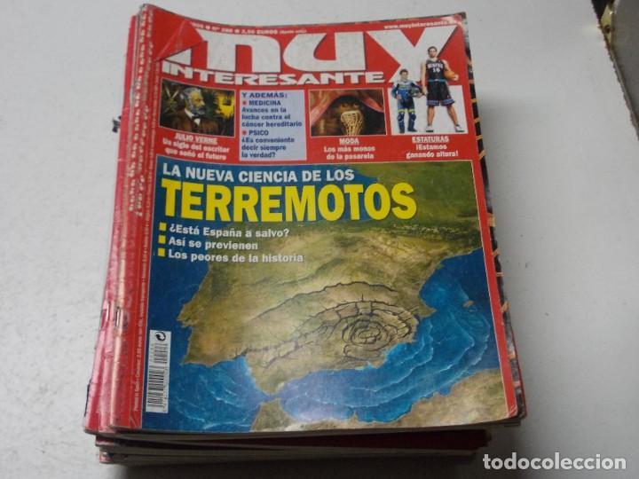 Coleccionismo de Revista Muy Interesante: Lote 20 revistas Muy Interesante, ver fotos portadas y leer números - Foto 6 - 288475248