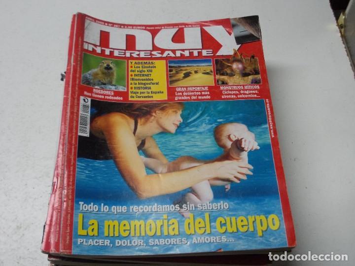 Coleccionismo de Revista Muy Interesante: Lote 20 revistas Muy Interesante, ver fotos portadas y leer números - Foto 7 - 288475248