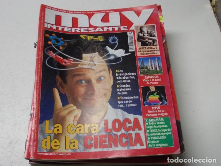 Coleccionismo de Revista Muy Interesante: Lote 20 revistas Muy Interesante, ver fotos portadas y leer números - Foto 8 - 288475248