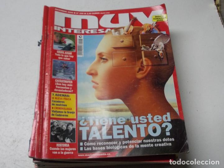 Coleccionismo de Revista Muy Interesante: Lote 20 revistas Muy Interesante, ver fotos portadas y leer números - Foto 9 - 288475248
