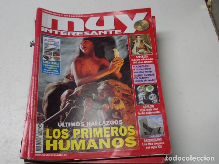 Coleccionismo de Revista Muy Interesante: Lote 20 revistas Muy Interesante, ver fotos portadas y leer números - Foto 11 - 288475248