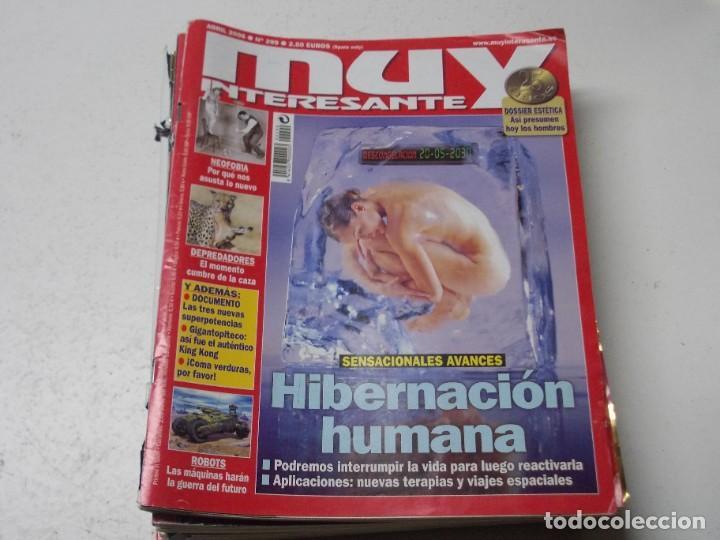 Coleccionismo de Revista Muy Interesante: Lote 20 revistas Muy Interesante, ver fotos portadas y leer números - Foto 12 - 288475248