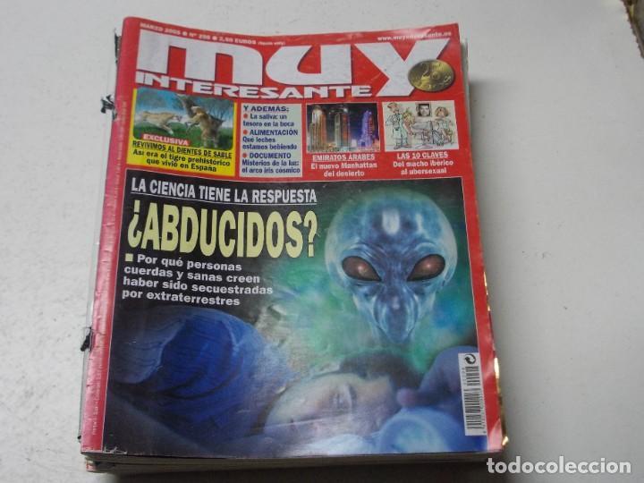 Coleccionismo de Revista Muy Interesante: Lote 20 revistas Muy Interesante, ver fotos portadas y leer números - Foto 13 - 288475248